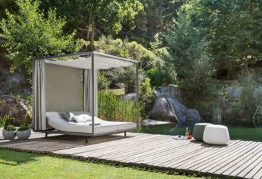 lit pour jardin