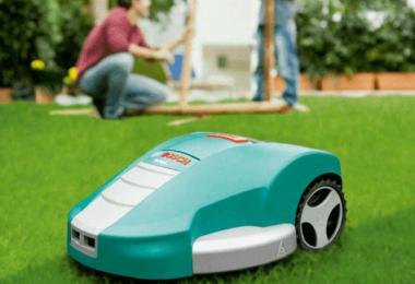 Robot tondeuse - image